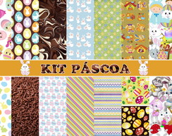 Kit Digital Scrapbook Páscoa