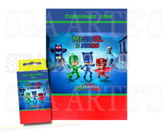 Kit Colorir - PJ Masks