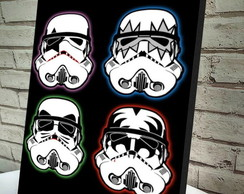 Poster / Quadro A4 Stormtroopers