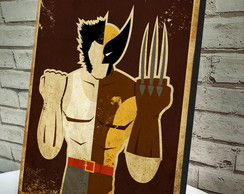 Poster / Quadro A4 Wolverine