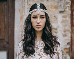 Headpiece Boho Catarina Bordada