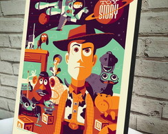 Poster / Quadro A4 Toy Story