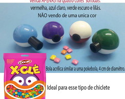 Mini Pokebola -Acrílica