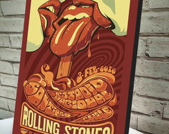 Poster / Quadro A4 Rolling Stones
