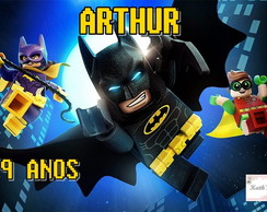 Papel Arroz BATMAN LEGO