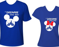 Camisetas Disney - Dreams come true