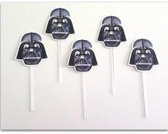 Topper De Doce Stars Wars Darth Vader No Elo7 Personalizados Da