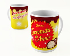 CANECA PORCELANA CHOCOLATE