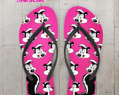 Chinelo Infantil Looney Tunes, Gambá