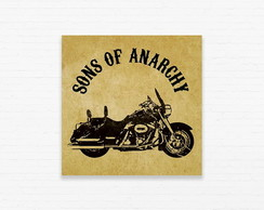 Quadrinho 15x15 Sons Anarchy - Moto