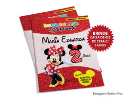 Revista Colorindo - Minnie Rosa