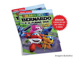 Revista Colorindo - Super Wings
