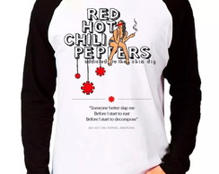 Camiseta Red Hot Chili Peppers M. Longa