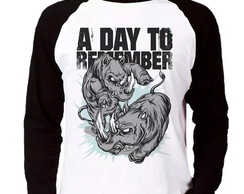 Camiseta A Day To Remember Manga Longa