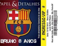 Convite Futebol Barcelona  4c9c713d22745