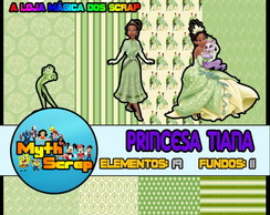 Kit Digital Scrapbook PRINCESA TIANA