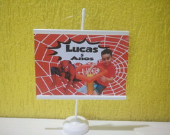 Mini banner homen aranha 15x20