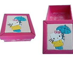Caixa Hello-Kitty Guarda-Chuva
