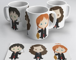 Caneca Porcelana Harry Potter