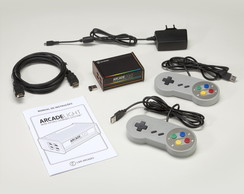 Arcade Light + 2 controles SNES