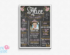 Chalkboard Digital - Princesa