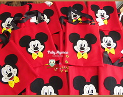 Kit 10 Sacolinhas do Mickey