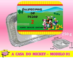 Marmitinha A Casa do Mickey - Modelo 01