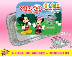 Marmitinha A Casa do Mickey - Modelo 03