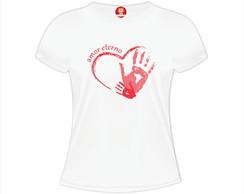 ... Camiseta Personalizada Mãe Amor Eterno d682390754cbe