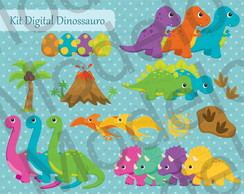 Kit Digital Dinossauro