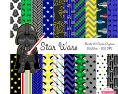 Kit Papel Digital - Star Wars