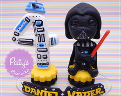 Mini Topinho com nome Darth Vader