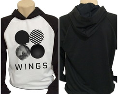 Moletom BTS Bangtan Boys Wings KPOP