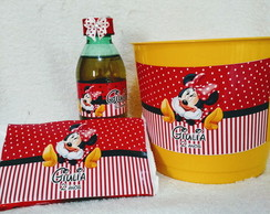 Kit Cinema Minnie Vermelha
