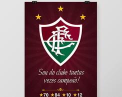 523712d7ee ... Quadro Fluminense Tetracampeão