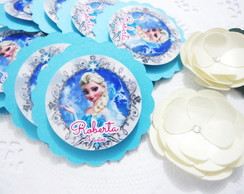 Tag Scrap Elsa Frozen