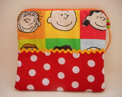 Necessaire Patchwork Snoopy