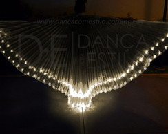 Wings LED Asa Dança do Ventre Branco Qt