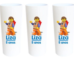 Copos Long Drink Lego
