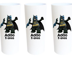 Copos Long Drink Batman Lego