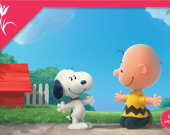 Painel Snoopy 2,5x1,5m