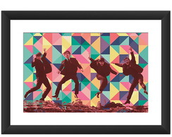Quadro Beatle Pop Arte Bandas Rock Cult