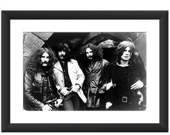 Quadro Black Sabbath Musica Rock Ozzy