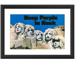 Quadro Deep Purple In Rock Decoracao