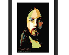 Quadro David Gilmour Pop Arte Rock