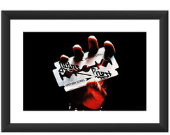 Quadro Judas Priest Banda Heavy Metal