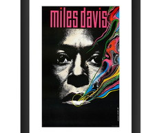 Quadro Miles Davis Jazz Rock Decoracao