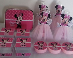 Kit Festa Minnie com sainha de Tule
