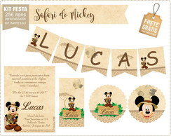 Festa pronta safari do mickey