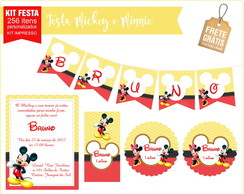 Festa pronta turma do mickey